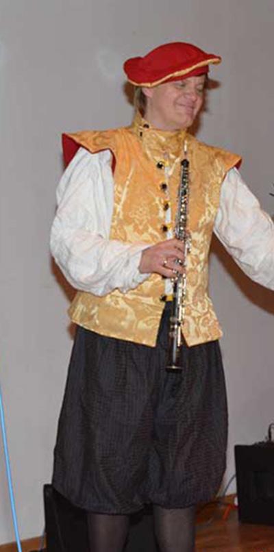 Matthias-Klingebiel mit Oboe