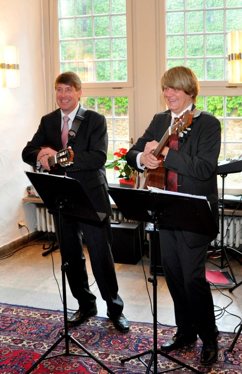 Andreas Meyer, Gitarre und Matthias Klingebiel, Gitarre